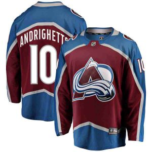 Andrighetto | Colorado Avalanche | Home Jersey | Sportsness.ch