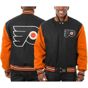 Philadelphia Flyers   JH Design Two-Tone All Wool Jacket   Sportsness.ch