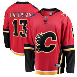 Gaudreau | Calgary Flames | Home Jersey | Sportsness.ch
