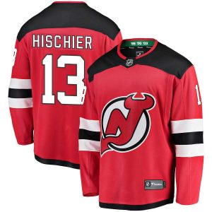 Hischier | New Jersey Devils | Home Jersey | Sportsness.ch