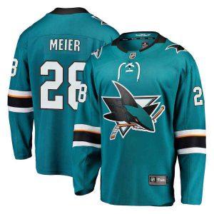 Meier | San Jose Sharks | Home Jersey | Sportsness.ch