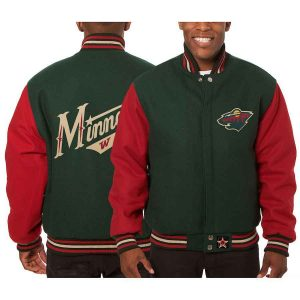 Minnesota Wild | JH Design Two-Tone All Wool Jacket | Sportsness.ch