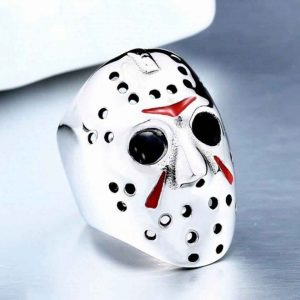 Ring | Jason Voorhees | Stainless Steel | Sportsness.ch