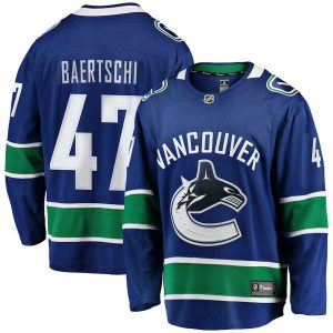 Baertschi | Vancouver Canucks | Home Jersey | Sportsness.ch