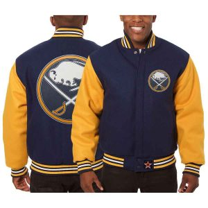 Buffalo Sabres | JH Design Two-Tone All Wool Jacket | Sportsness.ch