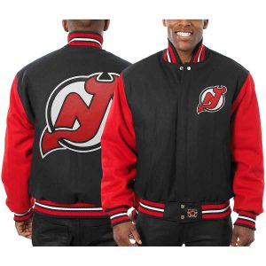 New Jersey Devils | JH Design Two-Tone All Wool Jacket | Sportsness.ch