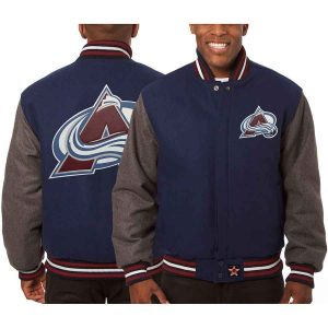 Colorado Avalanche | JH Design Two-Tone All Wool Jacket | Sportsness.ch
