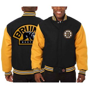 Boston Bruins | JH Design Two-Tone All Wool Jacket | Sportsness.ch