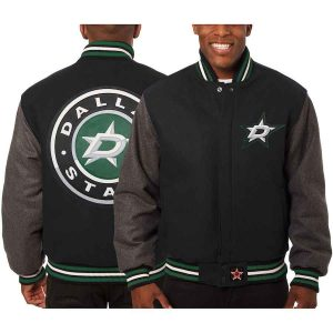 Dallas Stars | JH Design Two-Tone All Wool Jacket | Sportsness.ch