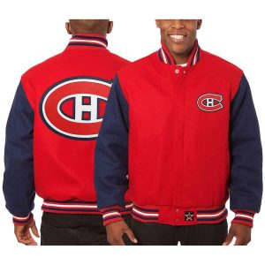 Montreal Canadiens | JH Design Two-Tone All Wool Jacket | Sportsness.ch