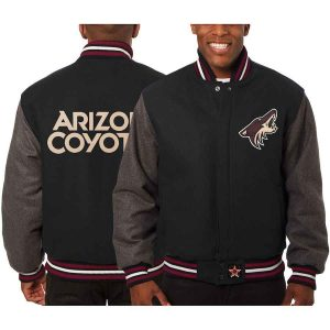 Arizona Coyotes | JH Design Two-Tone All Wool Jacket | Sportsness.ch