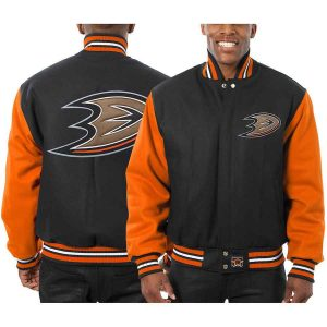 Anaheim Ducks | JH Design Two-Tone All Wool Jacket | Sportsness.ch