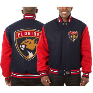 Florida Panthers | JH Design Two-Tone All Wool Jacket | Sportsness.ch