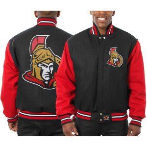 Ottawa Senators | JH Design Two-Tone All Wool Jacket | Sportsness.ch