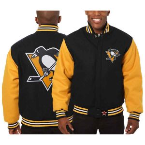 Pittsburgh Penguins | JH Design Two-Tone All Wool Jacket | Sportsness.ch