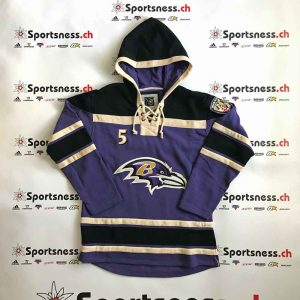Hoodie Baltimore Ravens #05 Joe Flacco | Sportsness.ch