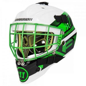 Warrior Ritual R/F1 Youth Certified Straight Bar Goalie Mask | Sportsness.ch