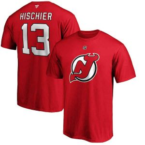 Nico Hischier | New Jersey Devils | T-Shirt | Sportsness.ch