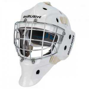 Bauer 930 Senior Certified Straight Bar Goalie Mask